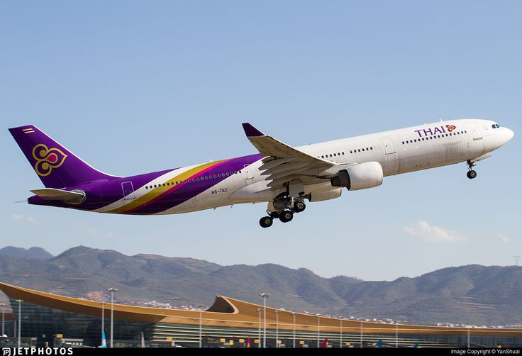 Photo of HS-TEC - Airbus A330-321 - Thai Airways International