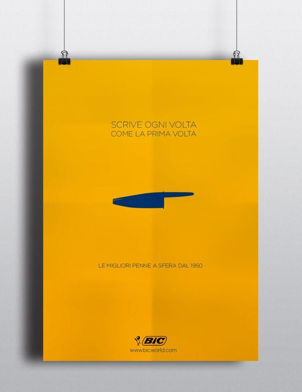 Poster Design by Luca Manuli, via Behance