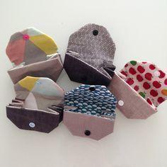"""FAIT : très rapide mais pas si mignon que ça en fait... tuto porte monnaie origami par """"Lili Ludi"""""""