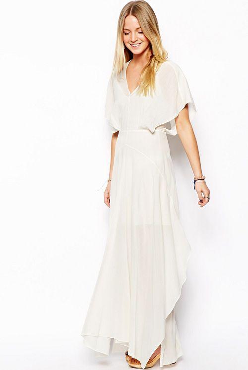 5a7f8aa50f Vestidos blancos largos vaporosos – Mini vestidos