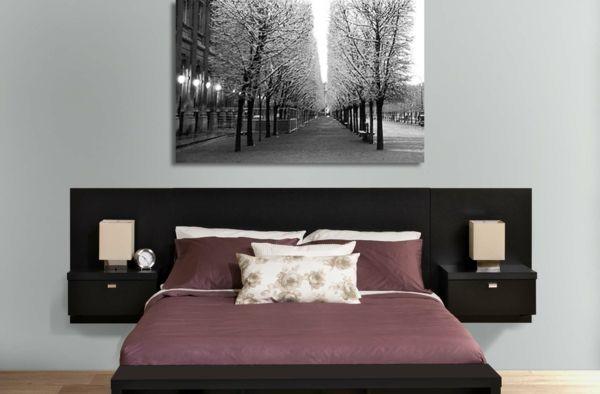 le chevet suspendu et le chevet flottant designs int ressants recherche et design. Black Bedroom Furniture Sets. Home Design Ideas