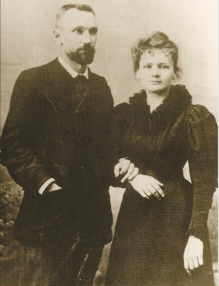 Pierre and Marie Skłodowska-Curie Frm bd: Photo - When the world was y...