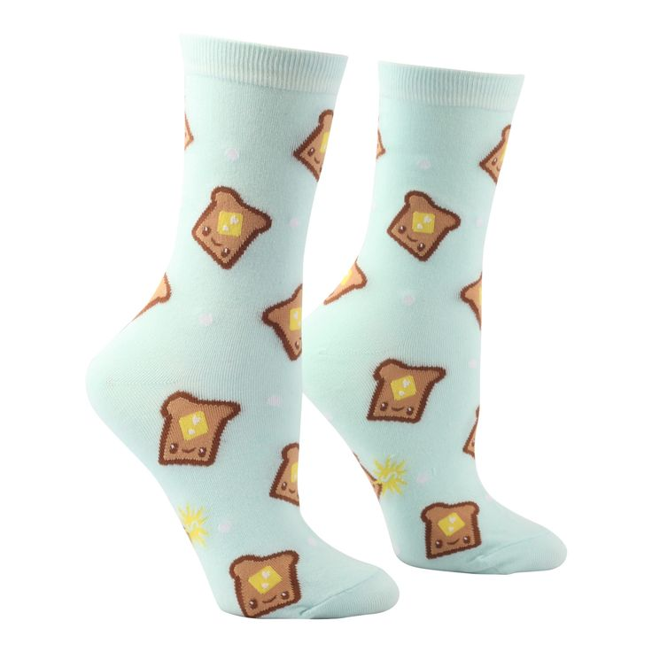 Be sure to keep your feet toasty warm in these adorably fun socks!  Best fitted to women's sizes 5-9.