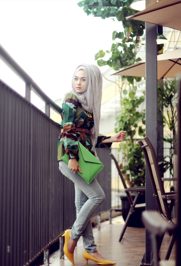 Nada puspitas - sketches of mind -hijab style