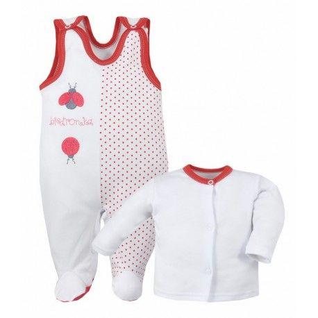 Prezentujemy Bawełniany Komplet dla Niemowlaka BETI - Bobas od Koala z Motywem biedronek.   Komplet składa się z zapinanej bluzeczki z długim rękawkiem oraz uroczych śpiochów. 100% bawełna. Uszyty w Polsce.  Prześliczna wyprawka dla niemowlaka. Sprawdź dostępne kolory i rozmiary:)  #kompletdlaniemowlaka #wyprawkadlaniemowlaka #bobas #koala