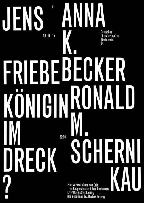Schauspiel Leipzig 2013/2014 Residence Poster — Bureau David Voss