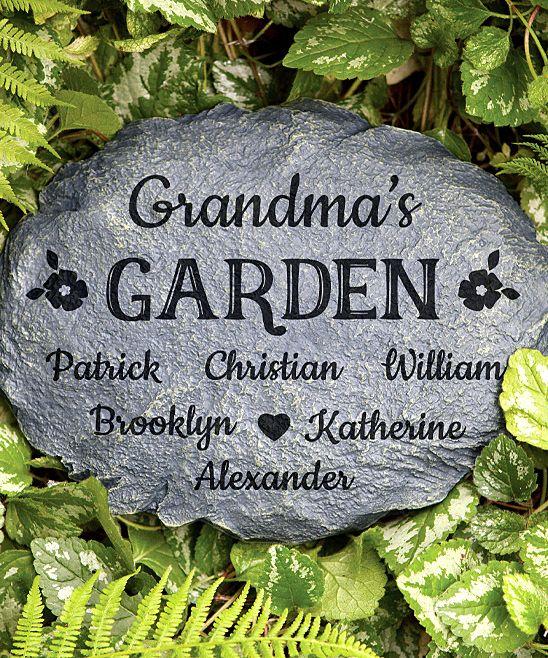 her garden garden stone