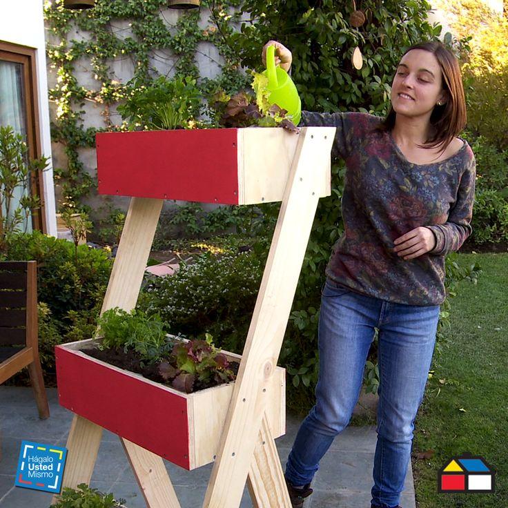 ¿Cómo construir un estante jardinera?