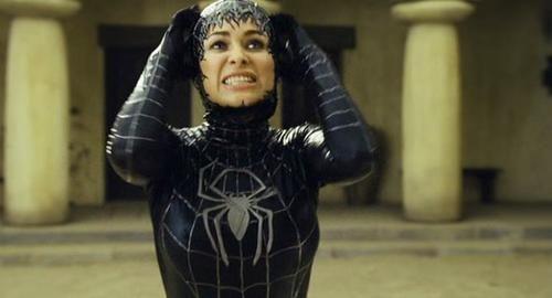 Carmen Electra Black Symbiote Suit | Venom-verse | Black ...