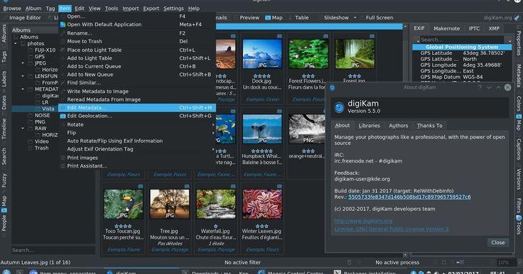 Το digiKam είναι μία προηγμένη εφαρμογή ψηφιακής διαχείρισης φωτογραφιών για Linux Windows και Mac-OSX. Οι άνθρωποι που ενέπνευσαν το σχεδιασμό του digiKam είναι επαγγελματίες φωτογράφοι με σκοπό να βοηθήσουν του χρήστες που θέλουν να προβάλλουν να διαχειριστούν να επεξεργαστούν να ενισχύσουν να οργανώσουν και να μοιράσουν τις φωτογραφίες τους. Το digiKam τρέχει στα πιο γνωστά περιβάλλοντα εργασίας εφ' όσον έχουν εγκατασταθεί οι απαιτούμενες βιβλιοθήκες. Υποστηρίζει όλες τις σημαντικές…