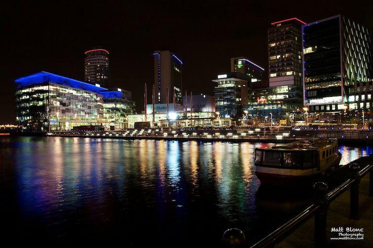 BBC media City Manchester by Matt Blonc