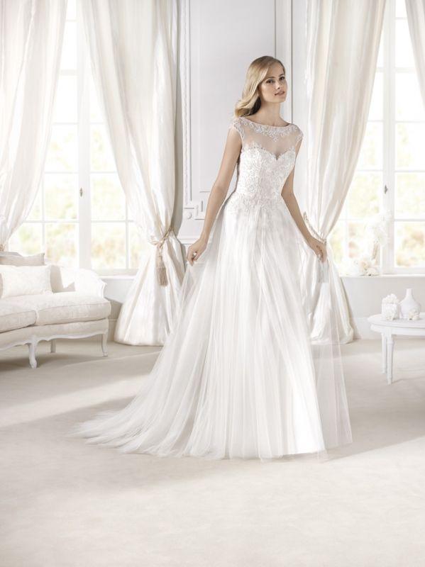Szukasz wyjątkowej, eleganckiej a zarazem oryginalnej sukni ślubnej? Sprawdź model sukni LA SPOSA EDELMA