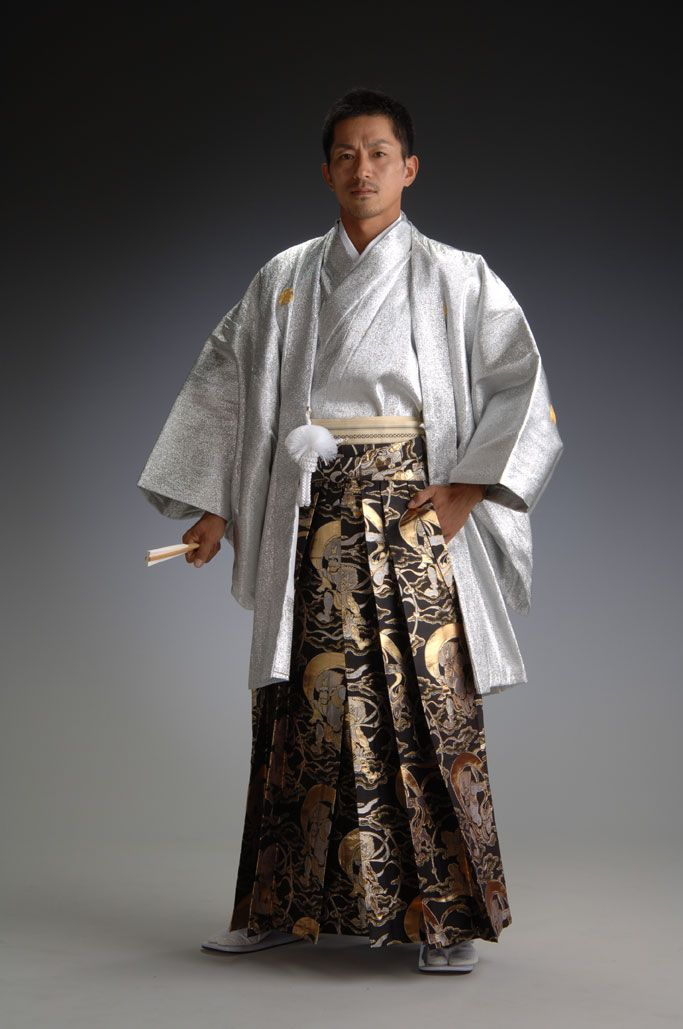 Rakuten: Gold and silver robe of an angel - silver - [haori & kimono set]- Shopping Japanese products from Japan