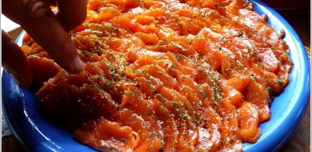 How to make Gravlox