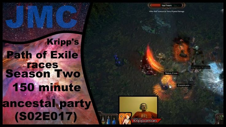 Kripp's Path of Exile races - Season Two, 150 Min Ancestral Party (S02E017)