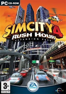 SimCity 4: Rush Hour is the expansion pack for SimCity 4 created by EA Games and Maxis, where the player builds a city from scratch.