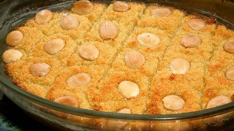 Harise (Postre típico de sémola) - Receta - Canal Cocina