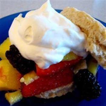 Summery Lime-Mango Shortcakes: Desserts, Shortcake Allrecipes Com, Limemango, Food And Drinks, Cakes Recipes, Summery Limes Mango, Limes Mango Shortcake, Fruit Recipes, Shortcake Recipes