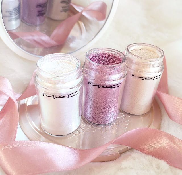 MAC Pigments | Kitchmas, Vanilla & Reflects Transparent Pink...