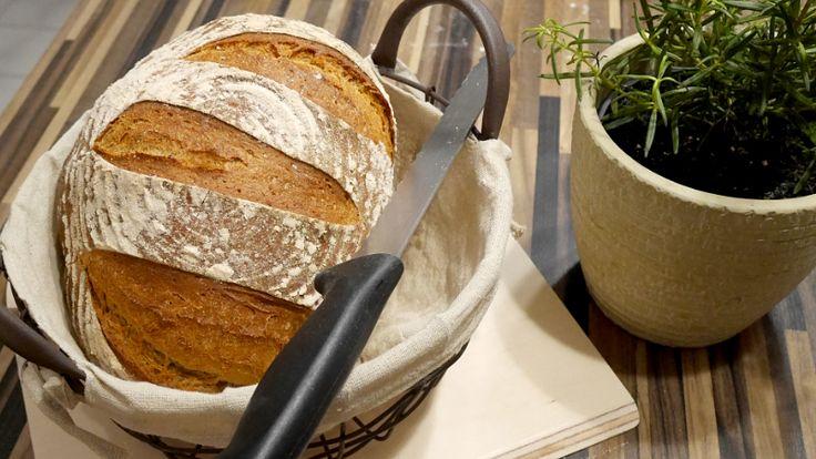 Dinkelbauernbrot – rustikal durch Roggen und Sau…