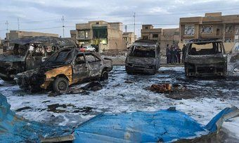 MIDDLE-EAST - Suicide bombers kill 26 at Iraq wedding celebration. SAMARRA, Iraq: Two suicide bombers attacked a celebration being held the night before a wedding north of Baghdad, killing 26 people, a police officer and a doctor said on Thursday. The bombings in the Al-Hajaj area, north of the city of Tikrit, also wounded 25 people, the sources said. There was no immediate claim of responsibility for the attack.