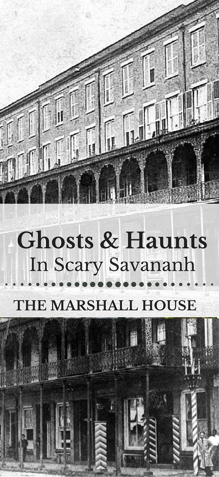 Haunted Hotels in Savannah, GA