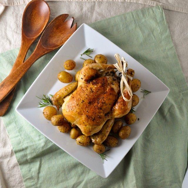 Weeknight Roast Chicken: Hear Me Out | Turntable Kitchen