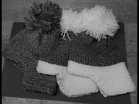 öron lapp vinterhatt, Yakhut, Hut mit echtem Strick auf einem Rundwebstuhl – YouTube   – A.Breiring patronen