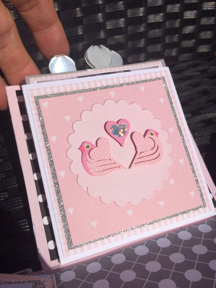 Exploting box. A christening gift for a beautiful little girl. By Louise Havlykke.