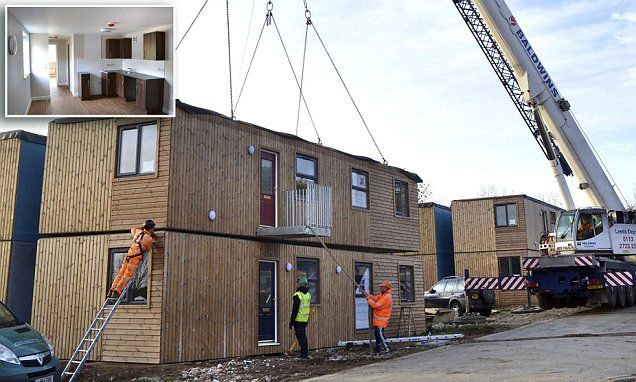 The return of the prefabs! 28 new pre-built council homes