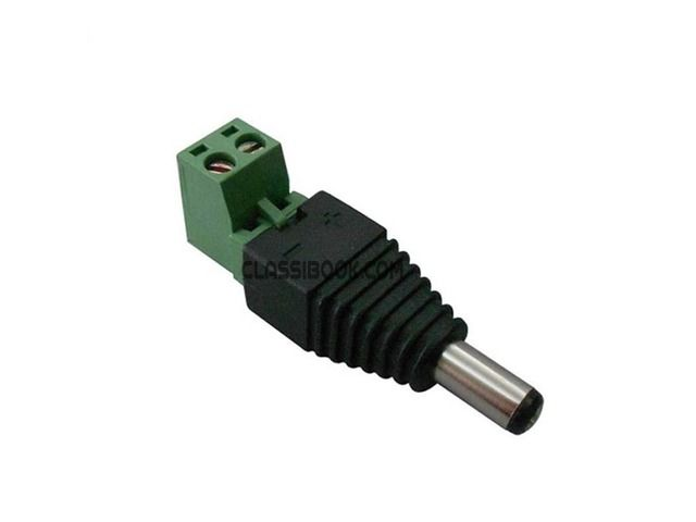 listing 5.5*2.1mm Male DC Power Plug With Screw ... is published on FREE CLASSIFIEDS INDIA - http://classibook.com/mahindra-in-bombooflat-50358