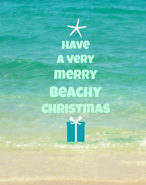 Beach Christmas Word Tree Card: http://beachblissliving.com/beach-christmas-card-photo-ideas/ Shop Christmas Cards with a Beach & Coastal Theme.
