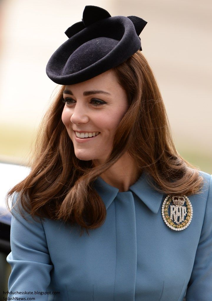 Duchess Kate: The Duchess of Cambridge Carries Out First Engagement of 2016 with RAF Air Cadets