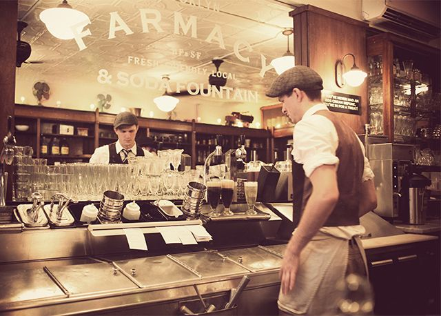 174 best images about old soda fountain and malt shops on for Old fashioned ice cream soda fountain