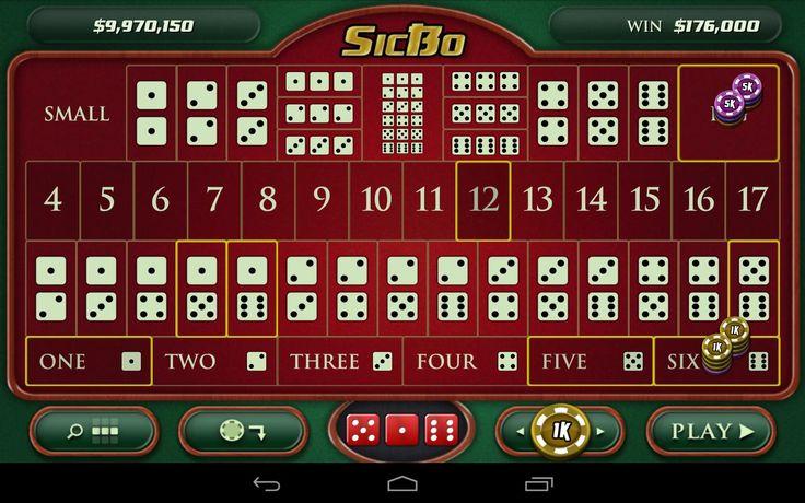 SicBo casino oyunları
