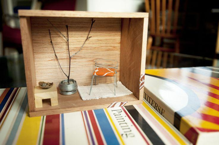 Cedar Box Dollhouse