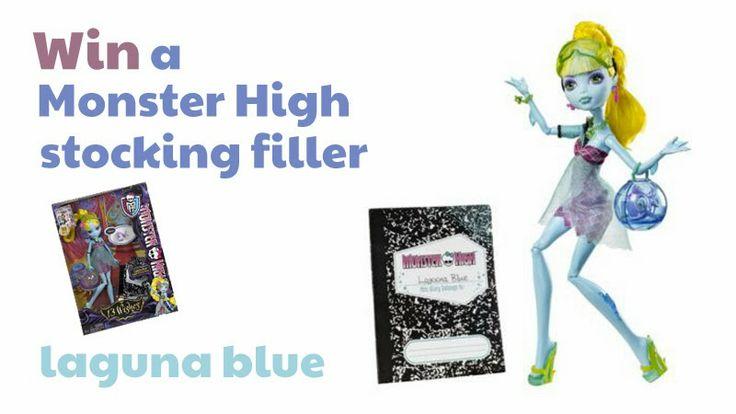 Giveaway - Monster High stocking filler