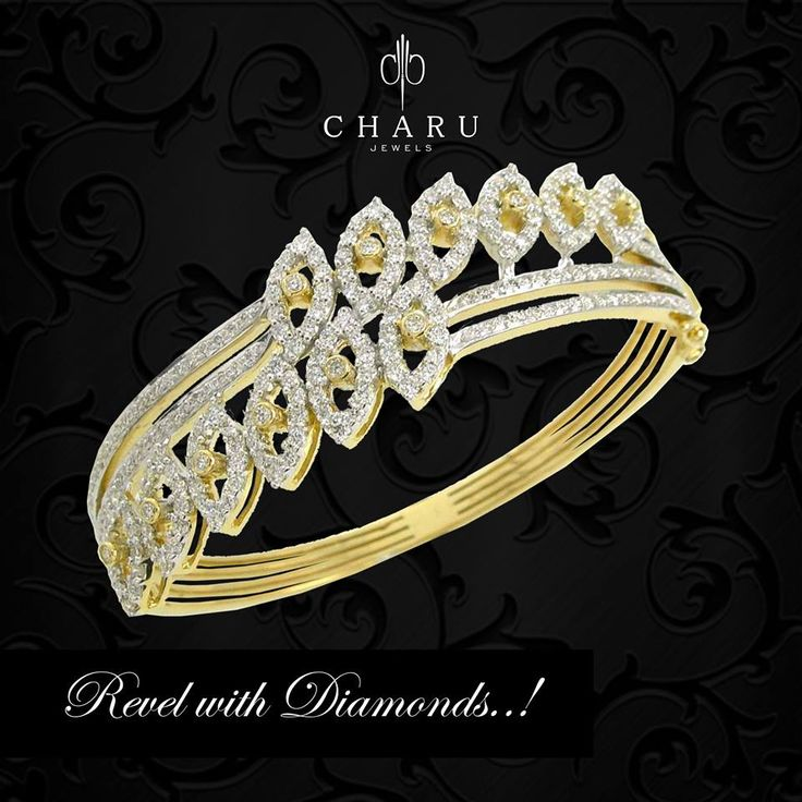 Beautifully #crafted #Real #Diamonds in an Artistic way for the #party or any…