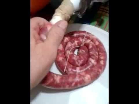 Делаем домашнюю колбасу