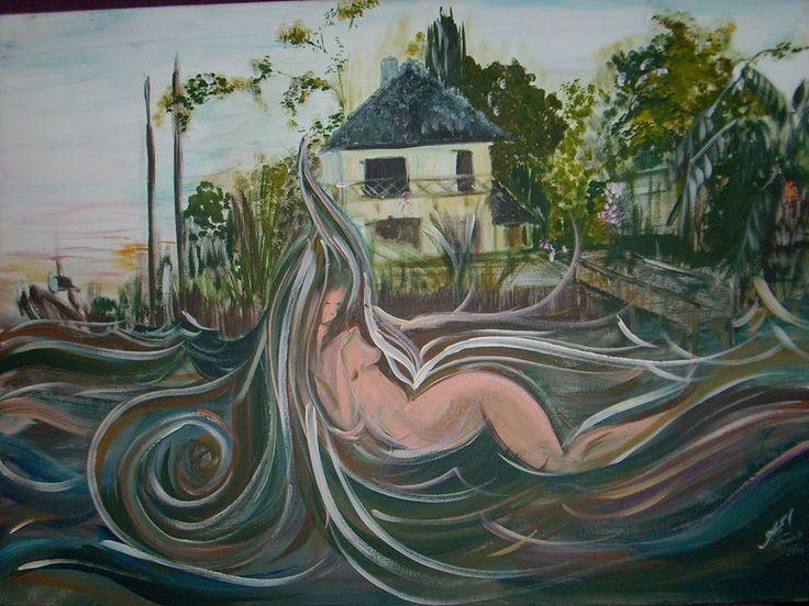 Adriana Sawka 2°Premio pintura al aire libre Fundacion Marcelo T de Alvear Tigre