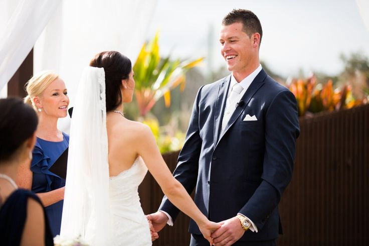 Gold Coast wedding celebrant Clarah Luxford is simply at the top of her profession. Eloquent, generous and a talented writer Clarah's couples absolutely love her.