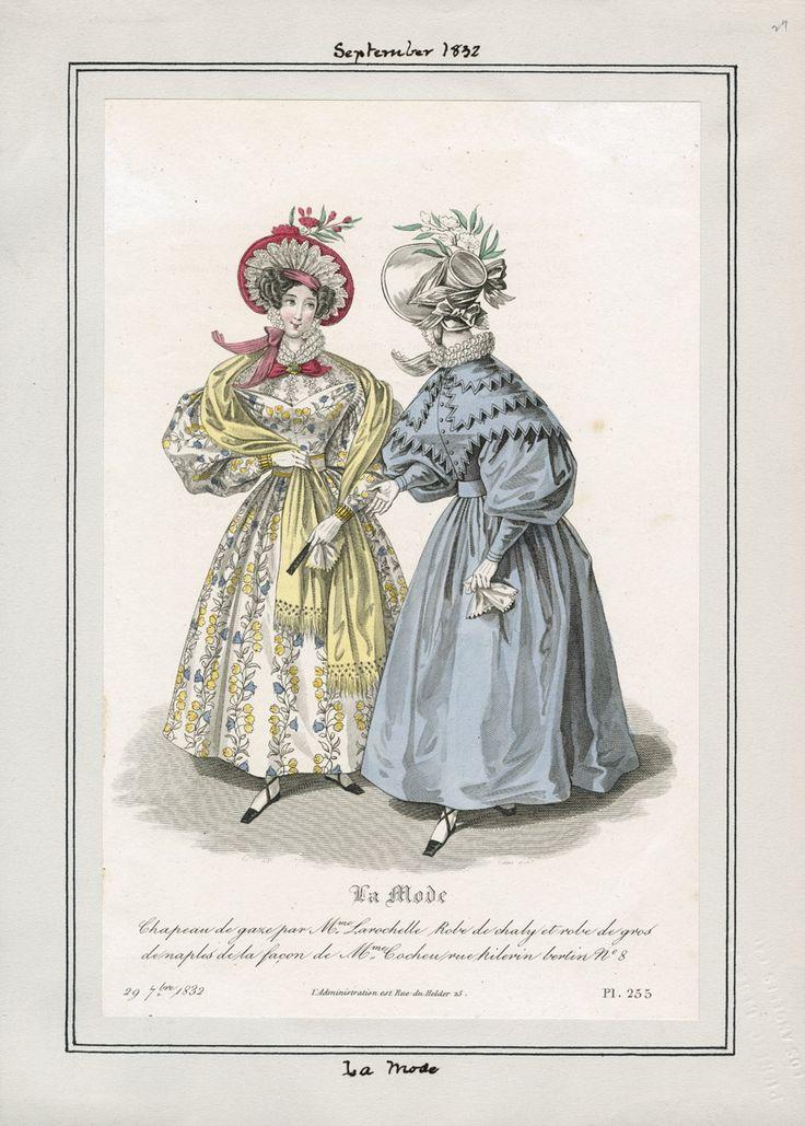La Mode September 1832 LAPL