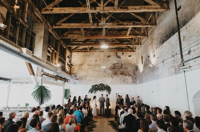 Portland Jacobsen Salt Warehouse wedding