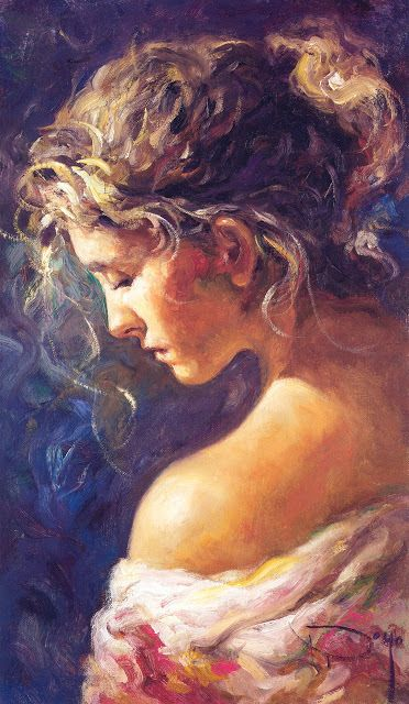 Spanish Artist Jose Royo | ... Lady Portraits of Jose Royo, the Modern Day Impressionist Artist