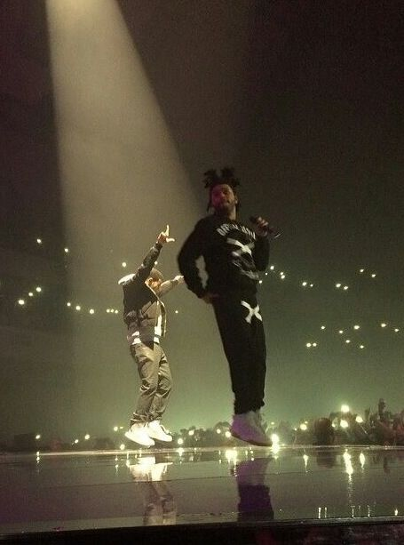The Weeknd on stage #OVO #XO