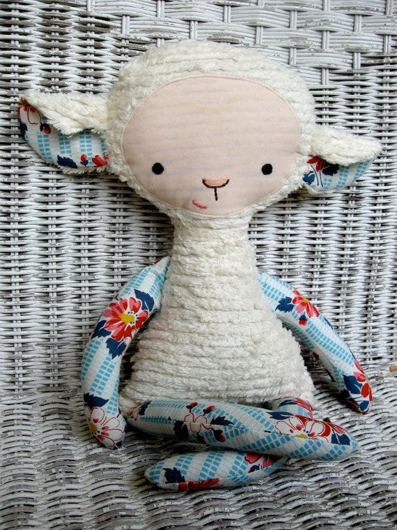 A sweet lady I know in Nashville makes these and other adorable soft critters. So cute!