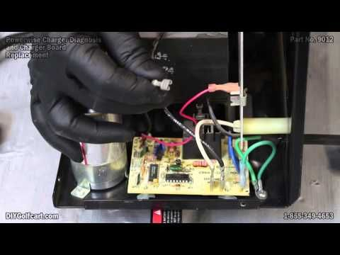 Powerwise Charger Board and Diagnostic | How to Repair or Replace Golf Cart Charger - YouTube