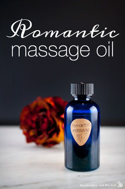 How to Make Romantic Massage Oil
