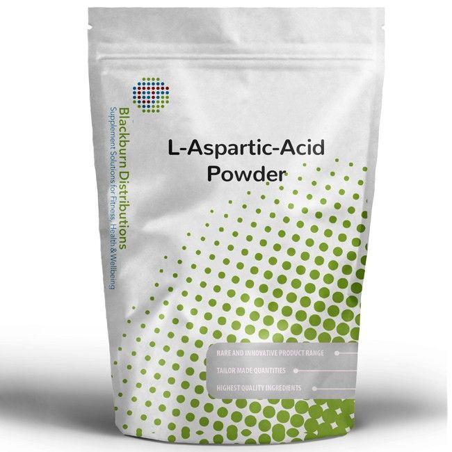 L-Aspartic Acid is an amino acid — the building block of proteins and necessary for several other processes in the body. http://www.blackburndistributions.com/l-aspartic-acid-powder.html