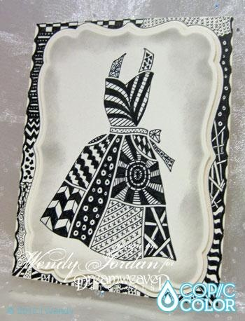 17 Best images about Zentangles dresses on Pinterest ...